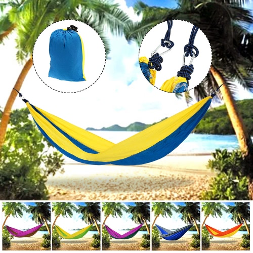2 People Outdoor Leisure Hammock for Camping TravelSports &amp; Outdoor<br>2 People Outdoor Leisure Hammock for Camping Travel<br>