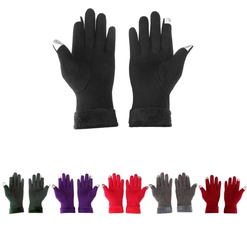 Winter Touchscreen Gloves Outdoor Sports Touchscreen Gloves Free Size Warm Touchscreen Gloves For WomenSports &amp; Outdoor<br>Winter Touchscreen Gloves Outdoor Sports Touchscreen Gloves Free Size Warm Touchscreen Gloves For Women<br>