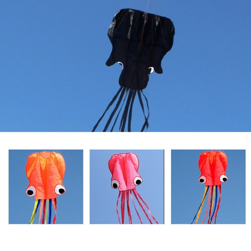 4M Octopus Kite Long Soft Kite with Handle Line Outdoor SportsSports &amp; Outdoor<br>4M Octopus Kite Long Soft Kite with Handle Line Outdoor Sports<br>