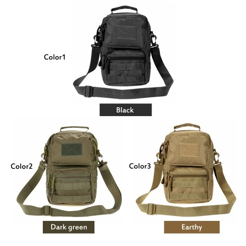 Outdoor Tactical Shoulder Bag Pack Adjustable Crossbody Bag Sling Bag for Camping &amp; HuntingSports &amp; Outdoor<br>Outdoor Tactical Shoulder Bag Pack Adjustable Crossbody Bag Sling Bag for Camping &amp; Hunting<br>
