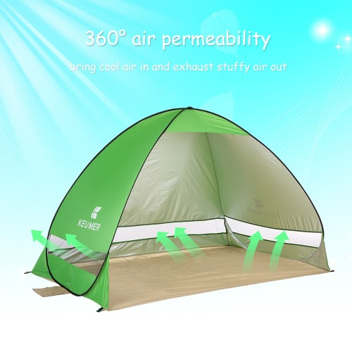 Outdoor Automatic Instant Pop-up Portable Beach TentSports &amp; Outdoor<br>Outdoor Automatic Instant Pop-up Portable Beach Tent<br>