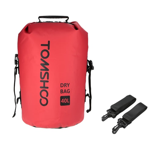 TOMSHOO 40L Outdoor Water-Resistant Dry Bag Sack Storage Bag for Travelling Rafting Boating Kayaking Canoeing Camping SnowboardingSports &amp; Outdoor<br>TOMSHOO 40L Outdoor Water-Resistant Dry Bag Sack Storage Bag for Travelling Rafting Boating Kayaking Canoeing Camping Snowboarding<br>