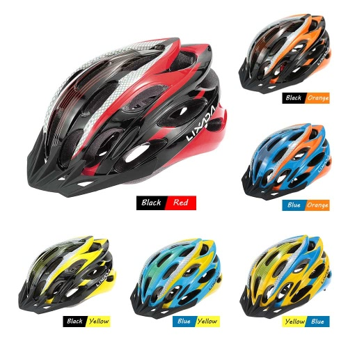 Lixada 25 Vents Super Lightweight Protective Bicycle Mountain Bike Road Bike Helmets for Cycling Mountain Racing Skateboarding RolSports &amp; Outdoor<br>Lixada 25 Vents Super Lightweight Protective Bicycle Mountain Bike Road Bike Helmets for Cycling Mountain Racing Skateboarding Rol<br>