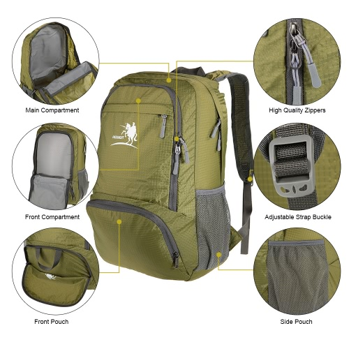 Free Knight Ultra-light 35L Packable Pack Style Backpack Stuff Sack for Travel Camping Home UseSports &amp; Outdoor<br>Free Knight Ultra-light 35L Packable Pack Style Backpack Stuff Sack for Travel Camping Home Use<br>