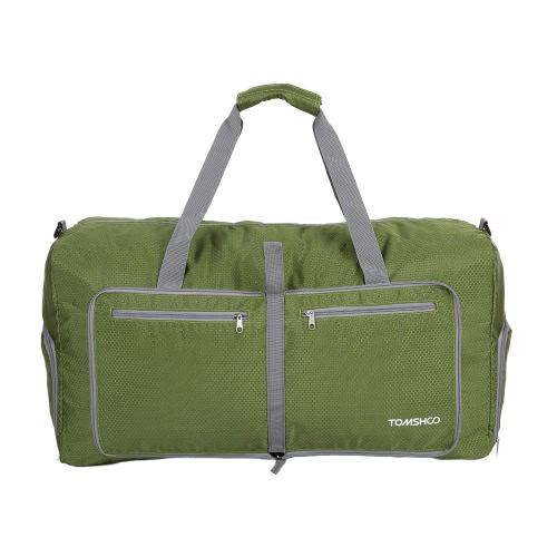 TOMSHOO 80L Foldable Packable Duffle Bag Large Travel Luggage Shopping Gym Storage Bag Water-resistantSports &amp; Outdoor<br>TOMSHOO 80L Foldable Packable Duffle Bag Large Travel Luggage Shopping Gym Storage Bag Water-resistant<br>