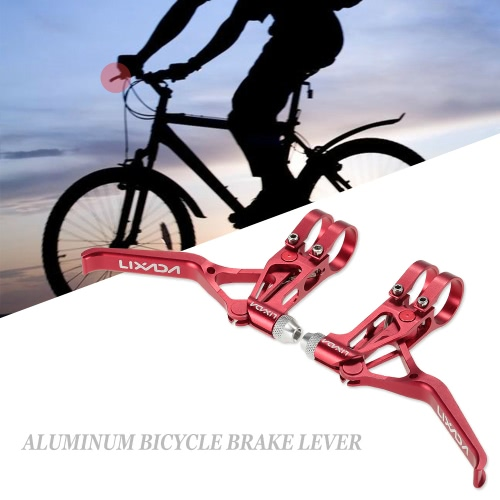 Lixada Bicycle CNC Aluminum Brake Lever MTB Mountain Bike 3 Fingers Mechanical Brake Levers 1 PairSports &amp; Outdoor<br>Lixada Bicycle CNC Aluminum Brake Lever MTB Mountain Bike 3 Fingers Mechanical Brake Levers 1 Pair<br>