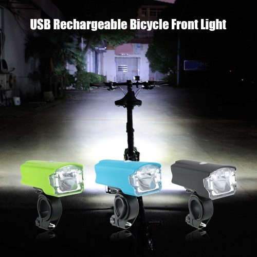 220LM Bicycle Front Light 1200mAh USB Rechargeable Bicycle LED Headlight Cycling Bike Light Flashlight Lamp TorchSports &amp; Outdoor<br>220LM Bicycle Front Light 1200mAh USB Rechargeable Bicycle LED Headlight Cycling Bike Light Flashlight Lamp Torch<br>