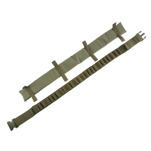28 Round Belt Hunting Tactical Shell Carrier Holder Sling Bandolier Tactical Military GearSports &amp; Outdoor<br>28 Round Belt Hunting Tactical Shell Carrier Holder Sling Bandolier Tactical Military Gear<br>