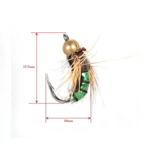 40pcs Fly Fishing Lure Kit Dry Fly Flies Baits Hooks Feather Wing for Trout Bass FishingSports &amp; Outdoor<br>40pcs Fly Fishing Lure Kit Dry Fly Flies Baits Hooks Feather Wing for Trout Bass Fishing<br>