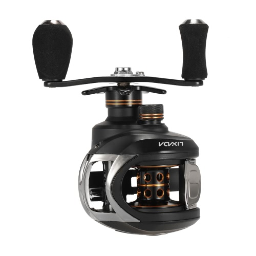 Lixada Baitcasting Fishing Reel 10+1 Ball Bearings 6.3:1 Gear Ratio Right/Left Hand Bait Casting Reel Sea Fishing Baitcasting ReelSports &amp; Outdoor<br>Lixada Baitcasting Fishing Reel 10+1 Ball Bearings 6.3:1 Gear Ratio Right/Left Hand Bait Casting Reel Sea Fishing Baitcasting Reel<br>