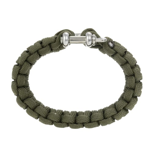 2PCS 330 Paracord Bracelet Shackle Weaving Survival 304L Steel U style BuckleSports &amp; Outdoor<br>2PCS 330 Paracord Bracelet Shackle Weaving Survival 304L Steel U style Buckle<br>