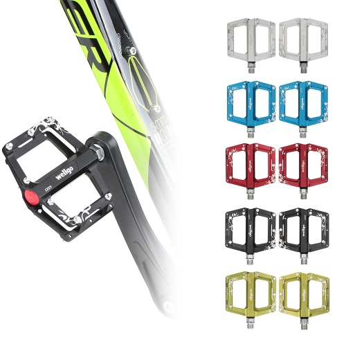 Wellgo Mountain Bike Bicycle Pedals Double Bearing Pedals Aluminum Alloy MBT Mountain Bike Parts Super Strong Platform Cycling PedSports &amp; Outdoor<br>Wellgo Mountain Bike Bicycle Pedals Double Bearing Pedals Aluminum Alloy MBT Mountain Bike Parts Super Strong Platform Cycling Ped<br>