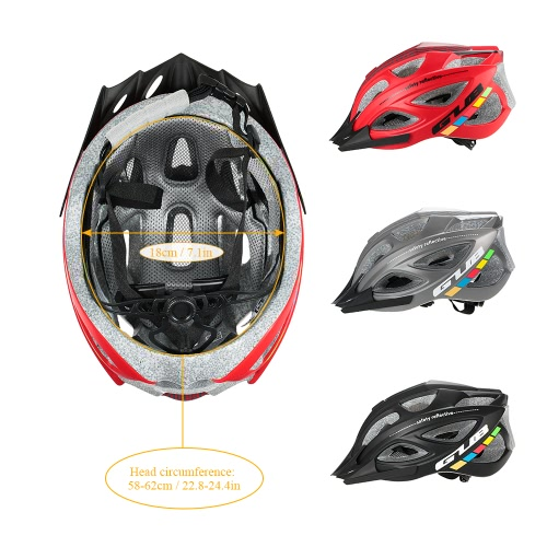 GUB Cycling Helmet Ultralight Bike Helmet Intergrally-molded 18 Flow Vents MTB Mountain Road Bicycle Helmet Adjustable 58-62cmSports &amp; Outdoor<br>GUB Cycling Helmet Ultralight Bike Helmet Intergrally-molded 18 Flow Vents MTB Mountain Road Bicycle Helmet Adjustable 58-62cm<br>