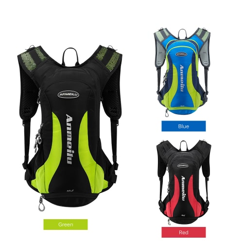 Water Resistant 10L Hydration Bladder Pack Cycling Running Walking Backpack Hiking Lightweight DaypackSports &amp; Outdoor<br>Water Resistant 10L Hydration Bladder Pack Cycling Running Walking Backpack Hiking Lightweight Daypack<br>