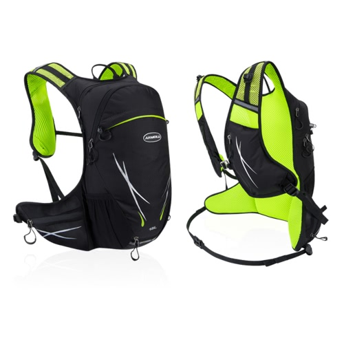 18L Water-resistant Breathable Cycling Bicycle Bike Shoulder Backpack Portable Outdoor Sports Riding Travel Mountaineering HydratiSports &amp; Outdoor<br>18L Water-resistant Breathable Cycling Bicycle Bike Shoulder Backpack Portable Outdoor Sports Riding Travel Mountaineering Hydrati<br>