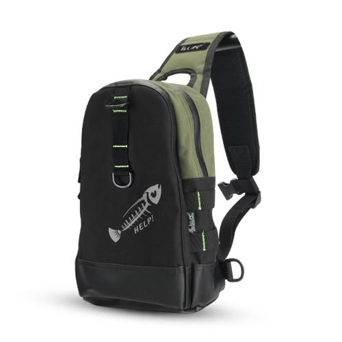 Outdoor Sport Fishing Chest Bag Lightweight Single Shoulder Chest Pack Fishing Tackle Bag Sling Bag for Camping Hiking Cycling FisSports &amp; Outdoor<br>Outdoor Sport Fishing Chest Bag Lightweight Single Shoulder Chest Pack Fishing Tackle Bag Sling Bag for Camping Hiking Cycling Fis<br>