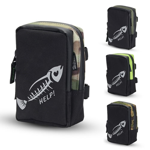 Fly Fishing Bag Portable Mini Fishing Tackle Gear Bag Pocket Fishing Tackle Pouch Outdoors Sports BagSports &amp; Outdoor<br>Fly Fishing Bag Portable Mini Fishing Tackle Gear Bag Pocket Fishing Tackle Pouch Outdoors Sports Bag<br>