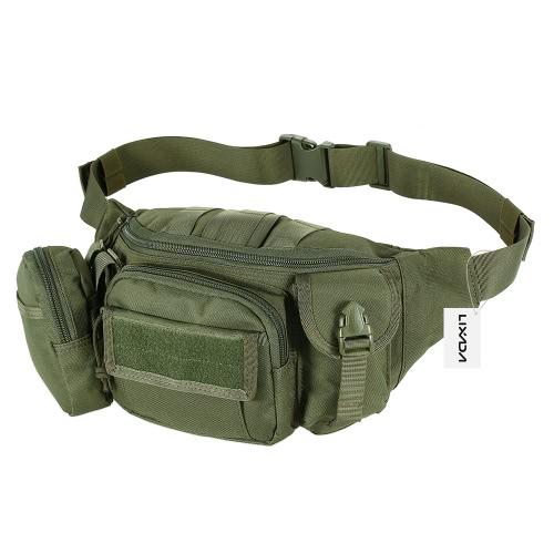 Lixada Открытый портативный талии Фанни пакет Путешествия талии сумка сумка для хип-хопа для велоспорта Кемпинг Пешие прогулки Охота Рыбалка