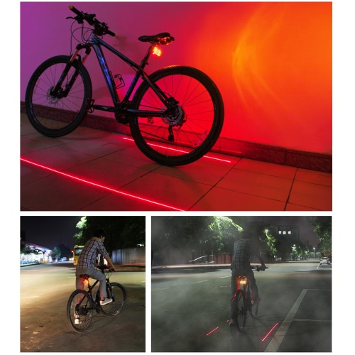 Bicycle Turn Signals Rechargeable Bike Cycling Taillight Rear Light Backlight Flashlight with Direction Indicators &amp; 2 Red Beams WSports &amp; Outdoor<br>Bicycle Turn Signals Rechargeable Bike Cycling Taillight Rear Light Backlight Flashlight with Direction Indicators &amp; 2 Red Beams W<br>