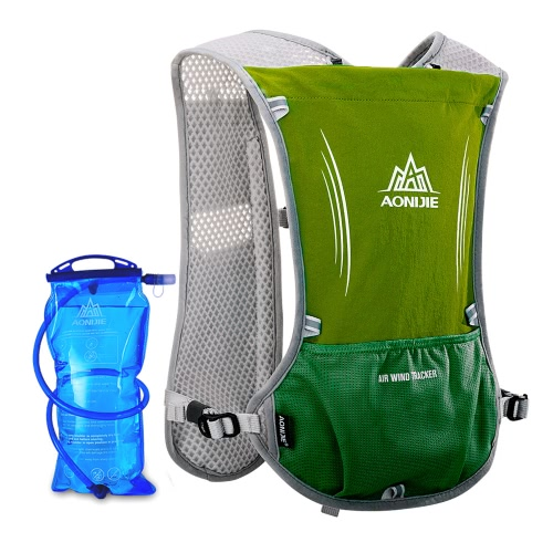 AONIJIE Reflective Vest Sport Water Bottle Backpack Bag for Running Cycling Clothes Safety Gear with 1.5L Hydration BladderSports &amp; Outdoor<br>AONIJIE Reflective Vest Sport Water Bottle Backpack Bag for Running Cycling Clothes Safety Gear with 1.5L Hydration Bladder<br>