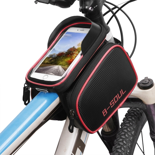 Bike Top Tube Phone Bag Bicycle Cycling Front Frame Bag Mobile Phone Holder Pouch Bike Phone Attachment MountSports &amp; Outdoor<br>Bike Top Tube Phone Bag Bicycle Cycling Front Frame Bag Mobile Phone Holder Pouch Bike Phone Attachment Mount<br>