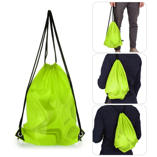 16L Lightweight Drawstring Backpack Outdoor Sport Gym Sack Pack Travel Storage Bag Beach BagSports &amp; Outdoor<br>16L Lightweight Drawstring Backpack Outdoor Sport Gym Sack Pack Travel Storage Bag Beach Bag<br>