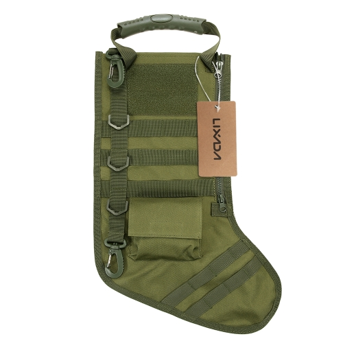 Lixada Hanging Christmas Stocking Molle Gear Bag Dump Drop Pouch Utility Storage Bag Magazine PouchesSports &amp; Outdoor<br>Lixada Hanging Christmas Stocking Molle Gear Bag Dump Drop Pouch Utility Storage Bag Magazine Pouches<br>