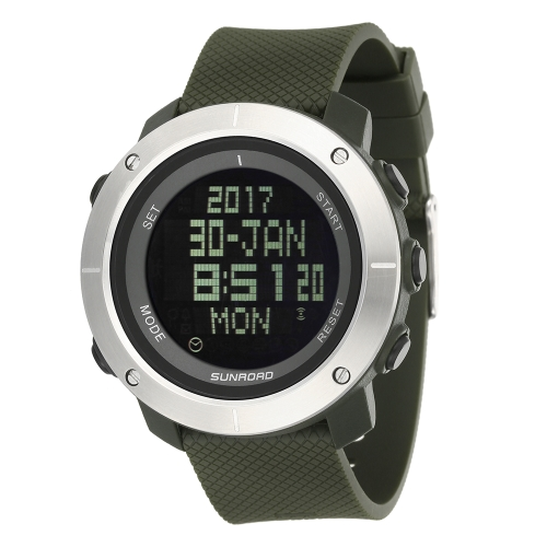 SUNROAD Sports Watch Stopwatch Countdown 5ATM Waterproof WatchSports &amp; Outdoor<br>SUNROAD Sports Watch Stopwatch Countdown 5ATM Waterproof Watch<br>