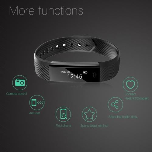 ID115 Fitness Tracker Smart BraceletSports &amp; Outdoor<br>ID115 Fitness Tracker Smart Bracelet<br>