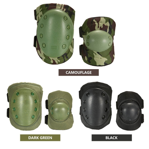 Lixada 2PCS Heavy Duty Outdoor Advanced Protective Pad Set with Knee Pads and Elbow Pads for Paintball Adjustable Skating Knee ElbSports &amp; Outdoor<br>Lixada 2PCS Heavy Duty Outdoor Advanced Protective Pad Set with Knee Pads and Elbow Pads for Paintball Adjustable Skating Knee Elb<br>