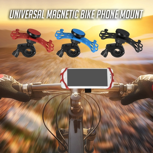 Magnetic Bike Phone Mount Universal Bicycle Motorcycle Handlebar Phone Holder for Cell Phones and GPSSports &amp; Outdoor<br>Magnetic Bike Phone Mount Universal Bicycle Motorcycle Handlebar Phone Holder for Cell Phones and GPS<br>
