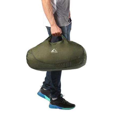 Ultralight Folding Handbag Packable Shopping Travel Hand Carry Bag for Men Women