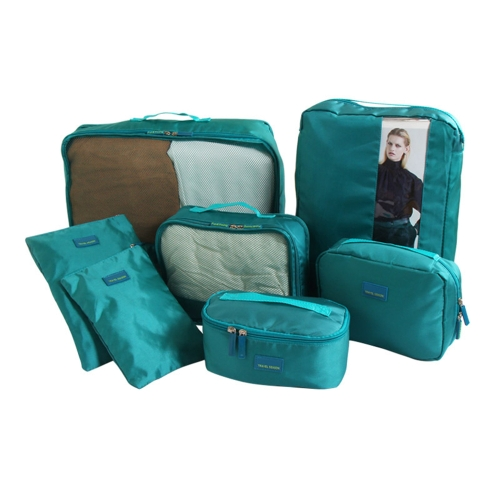 7PCS/Set Multi-fonction Travel Storage Bag Waterproof Clothing Sorting Bags Portable Luggage Partition Organizers Mesh Pouch DigitSports &amp; Outdoor<br>7PCS/Set Multi-fonction Travel Storage Bag Waterproof Clothing Sorting Bags Portable Luggage Partition Organizers Mesh Pouch Digit<br>