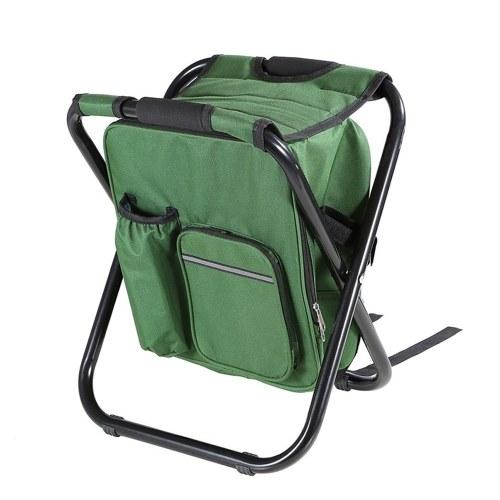 Открытый складной стул Портативный стул стул стул с изолированной сумкой-кулером