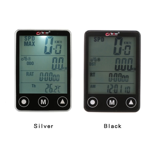 Multifunctional Touch Button LCD Bicycle Computer Odometer SpeedometerSports &amp; Outdoor<br>Multifunctional Touch Button LCD Bicycle Computer Odometer Speedometer<br>