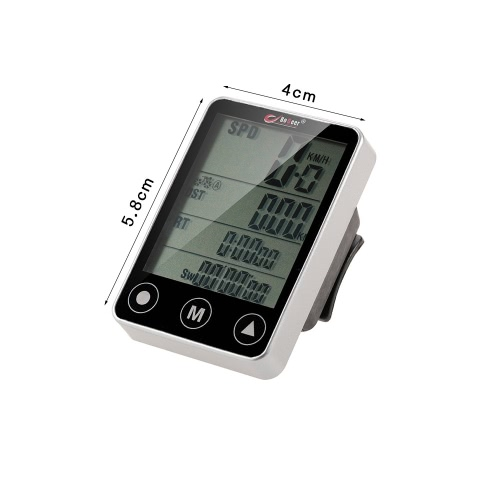 Multifunctional Wireless Touch Button LCD Bicycle Computer Odometer SpeedometerSports &amp; Outdoor<br>Multifunctional Wireless Touch Button LCD Bicycle Computer Odometer Speedometer<br>