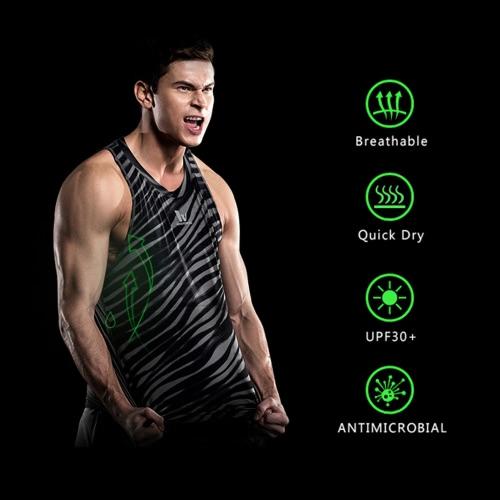 Quick-dry Men Bodybuilding Clothing Fitness Top Mens Sleeveless Shirt Sports VestSports &amp; Outdoor<br>Quick-dry Men Bodybuilding Clothing Fitness Top Mens Sleeveless Shirt Sports Vest<br>