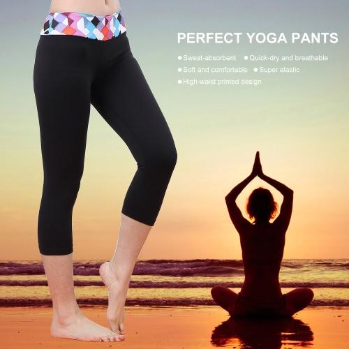Lixada Women Tight Yoga Pants Stretchy Quick-dry Capri Pants Sports Leggings for Yoga RunningSports &amp; Outdoor<br>Lixada Women Tight Yoga Pants Stretchy Quick-dry Capri Pants Sports Leggings for Yoga Running<br>