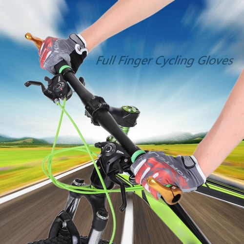 Full Finger Sports Gloves Racing Riding Road Bike Motor Cycling Bicycle GlovesSports &amp; Outdoor<br>Full Finger Sports Gloves Racing Riding Road Bike Motor Cycling Bicycle Gloves<br>