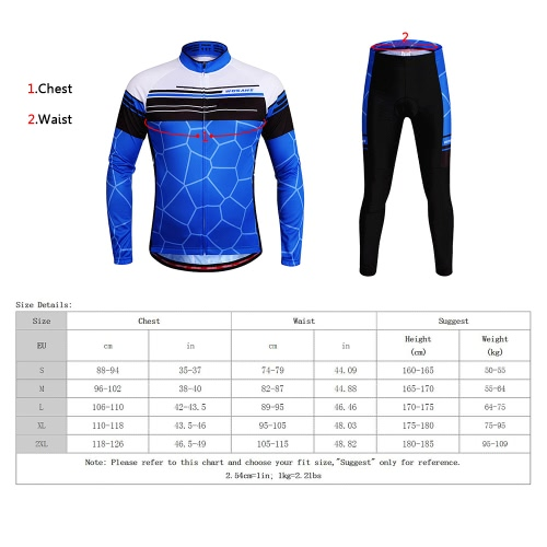 WOSAWE® Unisex Breathable Quick-dry Cycling Full-zip Long Sleeve Jersey Pants Cycling Mountain Biking Long Sleeve Bicycle ClothingSports &amp; Outdoor<br>WOSAWE® Unisex Breathable Quick-dry Cycling Full-zip Long Sleeve Jersey Pants Cycling Mountain Biking Long Sleeve Bicycle Clothing<br>