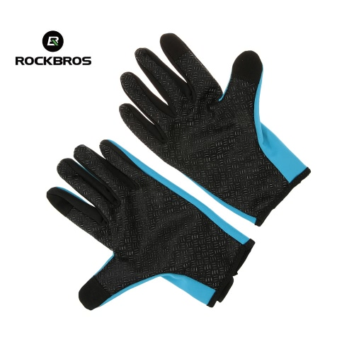 ?ROCKBROS Unisex Windproof Cycling Silicone Gel Gloves Full Finger Gloves Thermal Gloves Touch Screen Gloves Racing Riding MotorcySports &amp; Outdoor<br>?ROCKBROS Unisex Windproof Cycling Silicone Gel Gloves Full Finger Gloves Thermal Gloves Touch Screen Gloves Racing Riding Motorcy<br>