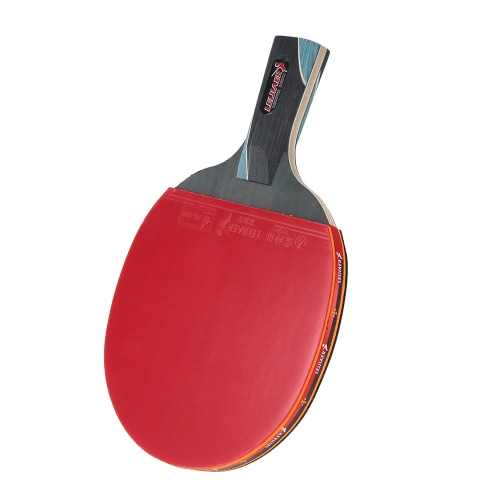 Профессиональный Настольный теннис ракетка пинг понг Bat ракетка настольного тенниса Лезвие с кейсом для транспортировки длинной ручкой / короткой ручкой
