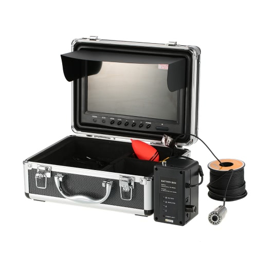 Waterproof 1000TVL HD Underwater Fishing Camera Fish Finder 9 Large LCD Color Monitor 30M Cable Night Vision Outdoor Portable FisSports &amp; Outdoor<br>Waterproof 1000TVL HD Underwater Fishing Camera Fish Finder 9 Large LCD Color Monitor 30M Cable Night Vision Outdoor Portable Fis<br>