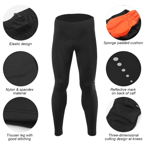 Arsuxeo Mens Outdoor Sport Cycling Pants Cropped Pants Breathable Comfortable Trousers SportswearSports &amp; Outdoor<br>Arsuxeo Mens Outdoor Sport Cycling Pants Cropped Pants Breathable Comfortable Trousers Sportswear<br>