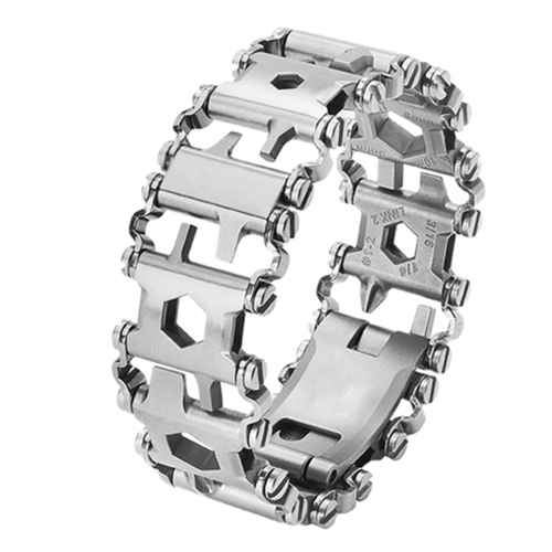 Wearable Multi-Tool Stainless Steel WristbandSports &amp; Outdoor<br>Wearable Multi-Tool Stainless Steel Wristband<br>