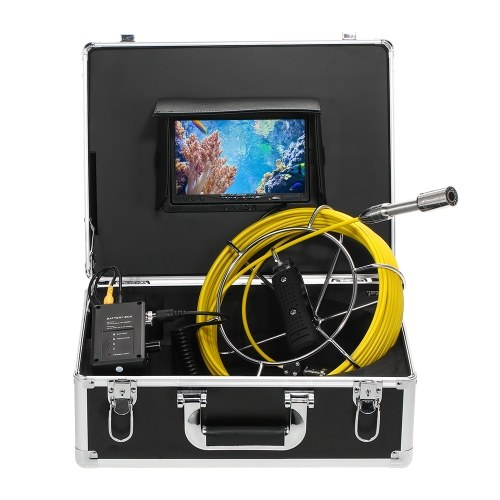 Lixada 30M Drain Pipe Sewer Inspection Camera