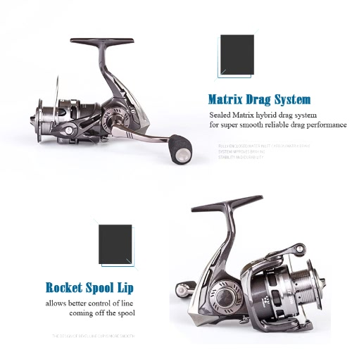 Abu Garcia Brand REVO LT 2000SH 2500SH Spinning Fishing Reel 9+1BB 6.2:1 Saltwater Long Shot Fishing ReelSports &amp; Outdoor<br>Abu Garcia Brand REVO LT 2000SH 2500SH Spinning Fishing Reel 9+1BB 6.2:1 Saltwater Long Shot Fishing Reel<br>