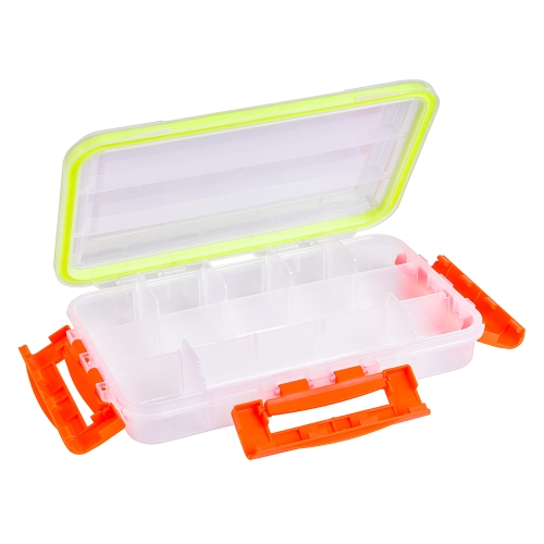 Transparent Visible Clear Fishing Lure Box Fishing Bait Hooks Tackle Accessory Storage Box Case ContainerSports &amp; Outdoor<br>Transparent Visible Clear Fishing Lure Box Fishing Bait Hooks Tackle Accessory Storage Box Case Container<br>