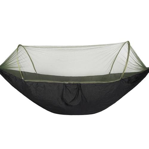 Hammock de acampamento ao ar livre portátil com rede de insetos mosquito