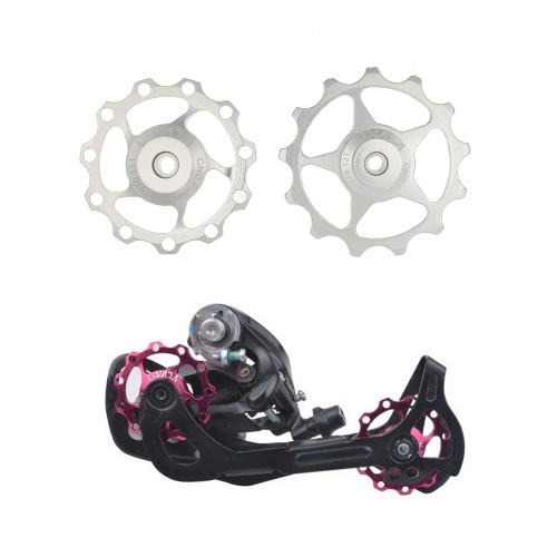 ?Lixada 1pc 11T/13T Rear Derailleur Guide CNC Aluminum Alloy Pulley Jockey Wheel Disc Sealed Bearings Pulley ReplacementSports &amp; Outdoor<br>?Lixada 1pc 11T/13T Rear Derailleur Guide CNC Aluminum Alloy Pulley Jockey Wheel Disc Sealed Bearings Pulley Replacement<br>